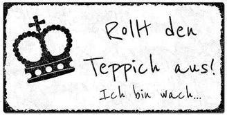 Blechschild shabby mit individuellem Wunschtext im Vintage Stil
