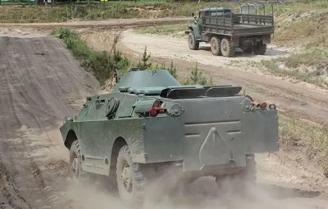Panzer fahren Mahlwinkel