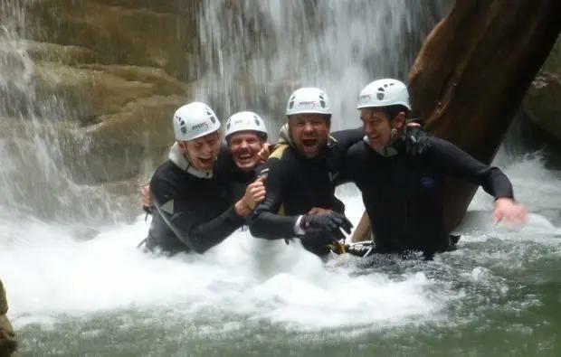 Aktivurlaub im Wasser Lingenau