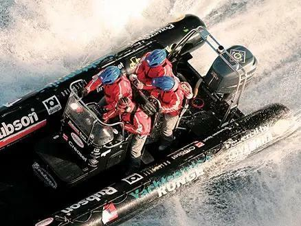 Speedboot fahren Kiel