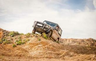 Geländewagen offroad fahren Aspach