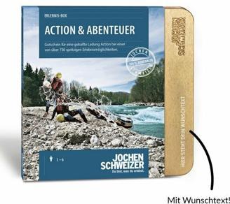 Erlebnis-Box Action & Abenteuer von Jochen Schweizer