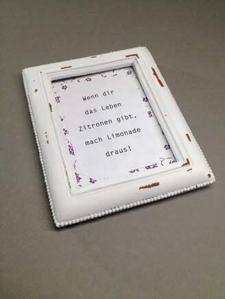 DIY-Geschenke im Bilderrahmen