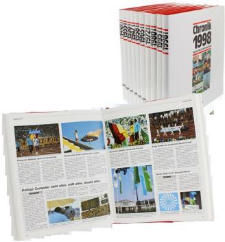 Jahrgangs Buch-Chronik Alle Jahrgnge 1902-2005