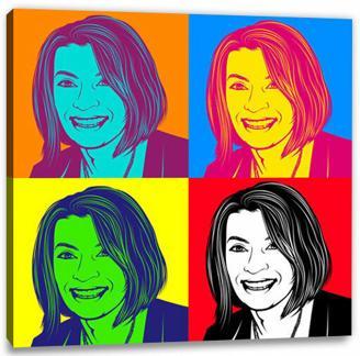 PopArt vom Foto - Warhol