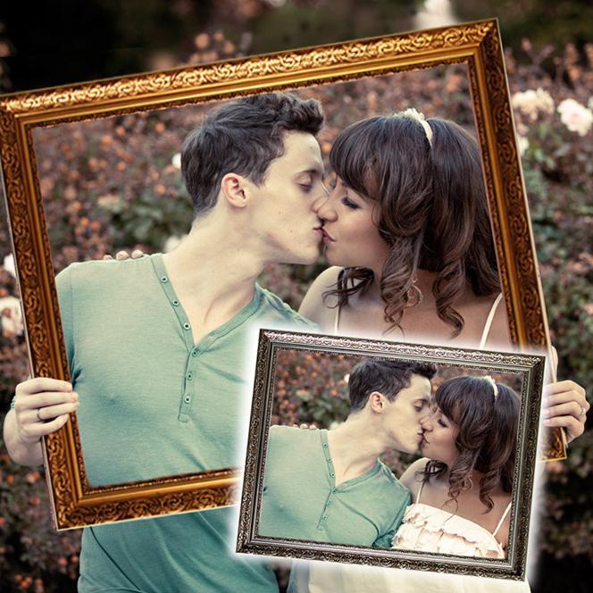 Hochzeitsrahmen
