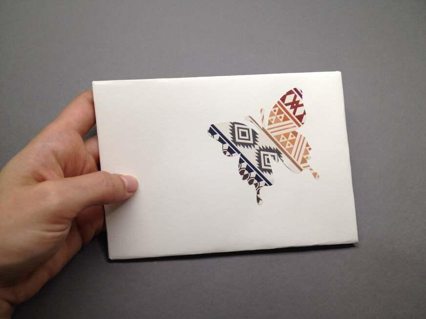 DIY-Briefumschlag