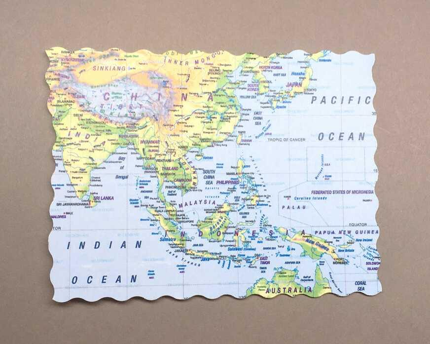 DIY-Geld-Geschenkkarte für Reisende
