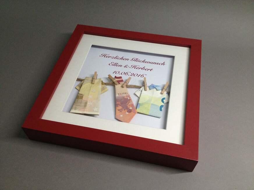 DIY-Hochzeitsgeschenk