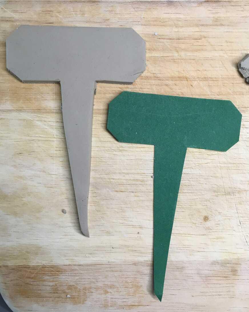 DIY-Pflanzenstecker