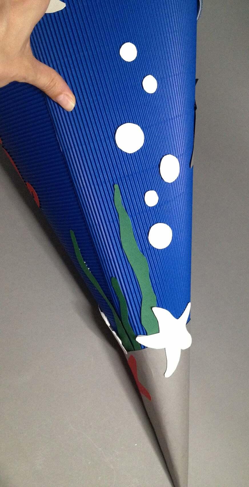 DIY-Schultüte zur Einschulung