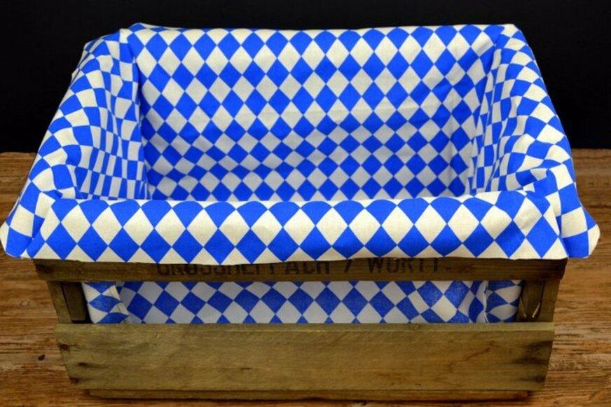 Selbstgemachter bayerischer Geschenkkorb