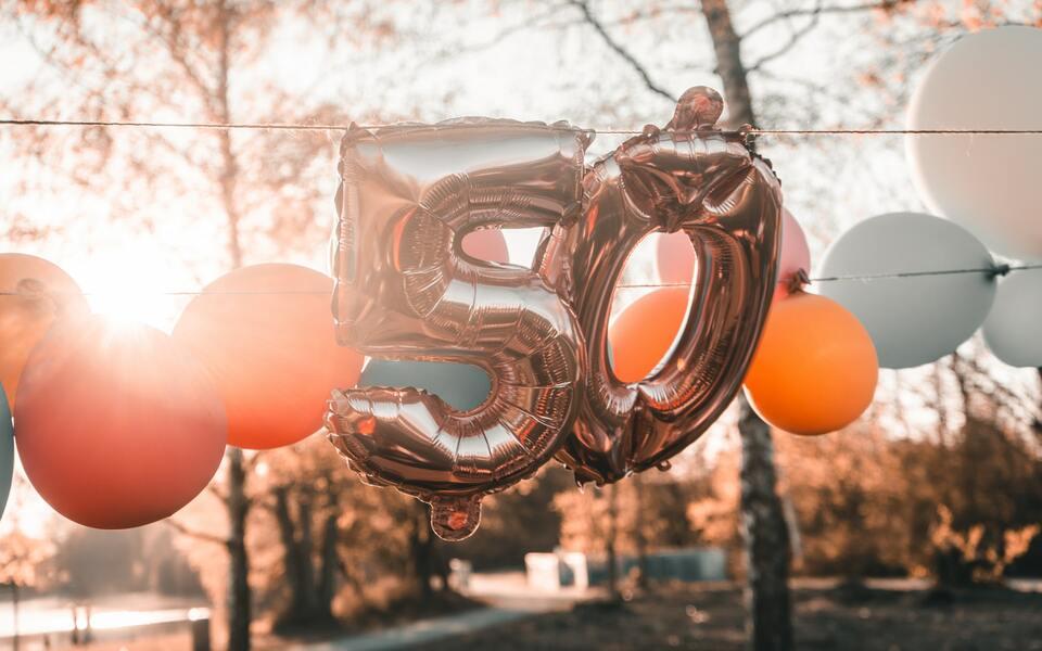 Geschenk frau 50 geburtstag Ideen Geschenk