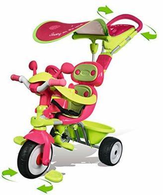 Smoby 434118 - 4-in-1 Dreirad Baby Driver Komfort
