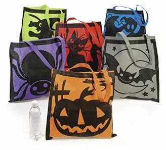 cama24com Halloween Sammelbeutel Tasche 6 Motive Geist Hexe Kürbis 6 Stück Palandi®