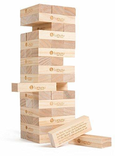 Deluxe erotisches Partnerspiel HÖHEPUNKT, leidenschaftliches Party-Spiel aus Holz für Erwachsene, von Venize