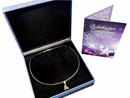 MaMeMe Collection Geschenk-Set 'Sternschnuppen-Kette' mit echten Meteoriten