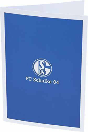 FC SCHALKE 04 GRUßKARTE SIGNET