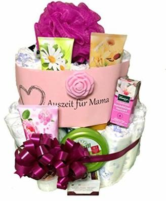 Windeltorte Mama | Wellness - Auszeit für Mama