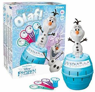 TOMY T73038 Pop Up Olaf, Mehrfarbig