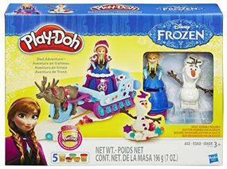 Hasbro Play-Doh B1860EU4 - Die Eiskönigin – Annas Schlitten, Knete