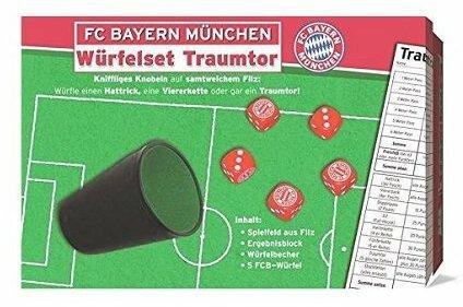 FC Bayern München Würfelset Traumtor