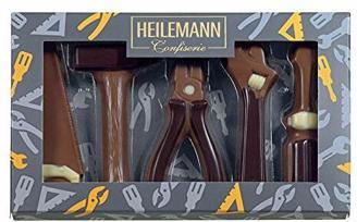 """Heilemann Geschenkpackung """"Werkzeuge"""" Edelvollmilch, 100g"""