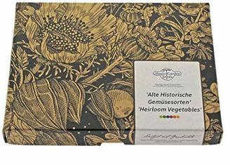 Alte historische Gemüsesorten-Sortiment - Samen-Geschenkset mit 8 seltenen Saatgut-Raritäten