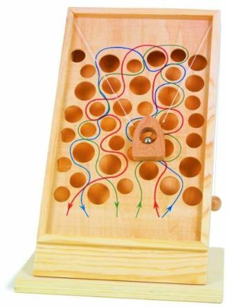 small foot 4603 Geschicklichkeitsspiel Kletterpfad, One Colour