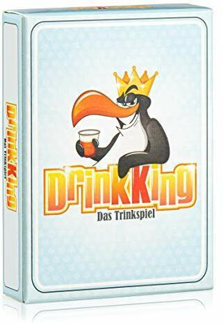 Spielehelden Drinkking - Trinkspiel - Partyspiel für Erwachsene - Super als Geburtsgeschenk für Männer - Wichtelgeschenk unter 10 Euro - Trinkspiele Partyspiele ab 18 - Silvester - Männergeschenke