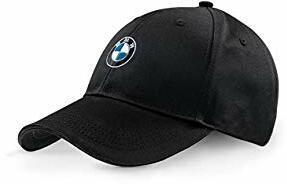BMW Neu Original BMW Schwarz Emblem Verstellbare Kappe Mütze 80162411103
