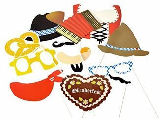 Oktoberfest Photo Booth - Volksfest Foto Verkleidung Foto Requisite Party