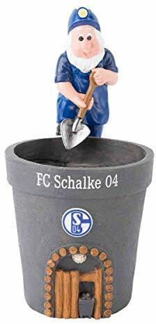 FC Schalke 04 Blumentopf Zwerg