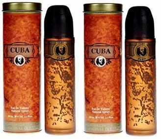 2 x Cuba Gold Paris Parfüm Herren je 100 ml Geschenke für Männer   EDT als Geschenkset   Orient Duft Eau de Toilette Set