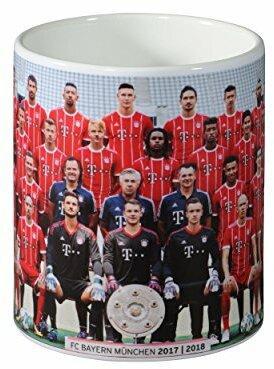 """FC Bayern München Tasse Team 17/18"""""""