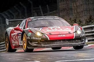 Jochen Schweizer Geschenkgutschein: (geeignet für) Ferrari F458 Renntaxi