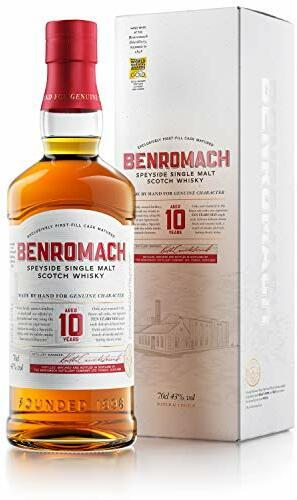 Benromach Whisky 10 Years in Geschenkverpackung Speyside Single Malt Scotch Whisky (1 x 0.7 l)